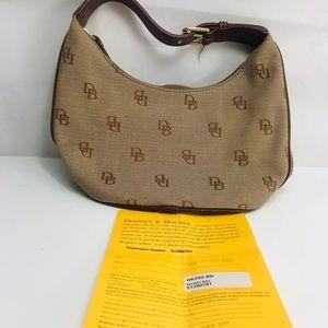 Dooney and bourke hk29q brown Hand bag
